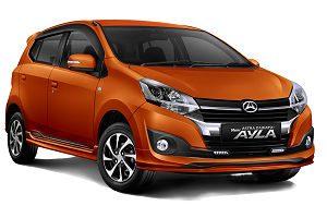 Rental Mobil Ayla Surabaya