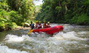 paket rafting sungai ayung bali