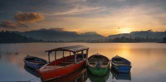 Danau Situ Cileunca Pangalengan Bandung