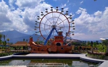 Wahana Permainan Di Saloka Theme Park