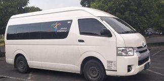 Rental Mobil Toyota Hiace Pekanbaru