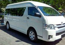 Rental Mobil Toyota Hiace Premio Di Padang