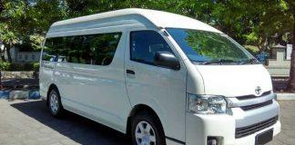 Sewa Toyota Hiace Commuter Dan Premio Padang