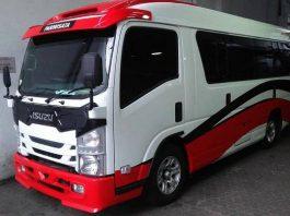 Sewa Minibus Isuzu Elf Di Serpong Tangsel